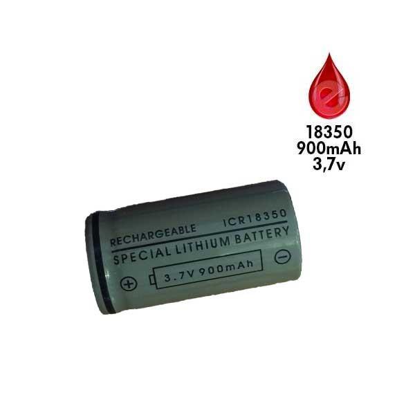 ACCU ICR 18350 900mah GRIS