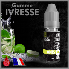 ANIS - Flavour POWER - e-liquide 10ml FLAVOUR POWER