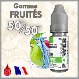 50/50 THE PIPPE (double pomme) - Flavour POWER - e-liquide 10ml FLAVOUR POWER