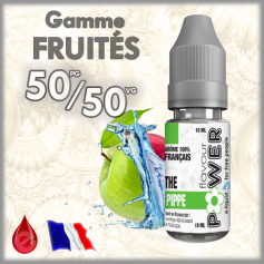 50/50 50/50 THE PIPPE (double pomme) - Flavour POWER - e-liquide 10ml