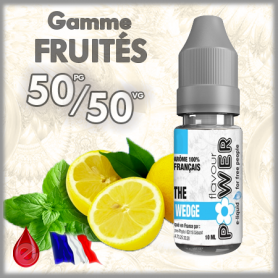 50/50 THE WEDGE - Flavour POWER - e-liquide 10ml 50/50 pas cher