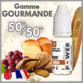 50/50 POINT BREAK - Flavour POWER - e-liquide 10ml 50/50 pas cher