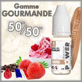 50/50 SNORKI - Flavour POWER - e-liquide 10ml FLAVOUR POWER