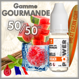 50/50 BELLS BEACH - Flavour POWER - e-liquide 10ml 50/50 pas cher