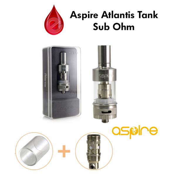 coffret ASPIRE ATLANTIS tank sub ohm ASPIRE