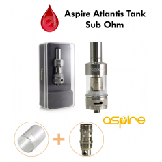 coffret ASPIRE ATLANTIS tank sub ohm ASPIRE