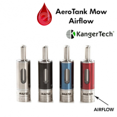 Accessoires AEROTANK MOW Airflow kangertech Dual Coil (officiel)
