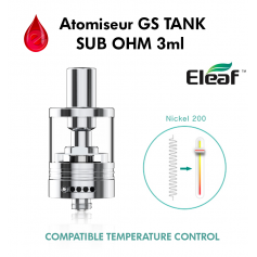 clearomiseur ELEAF GS TANK sub ohm