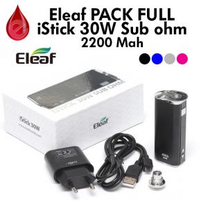 Eleaf - PACK ISTICK 30W SUB OHM - MOD