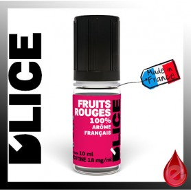 FRUITS ROUGES - D'lice - e-liquide 10ml D'LICE
