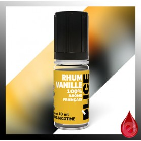 RHUM VANILLE - D'lice - e-liquide 10ml D'LICE
