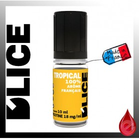 TROPICAL - D'lice - e-liquide 10ml D'LICE