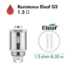 Resistance Eleaf GS 1.5 Ohm