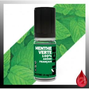MENTHE VERTE - D'lice - e-liquide 10ml D'LICE