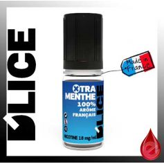 XTRA MENTHE - D'lice - e-liquide 10ml D'LICE