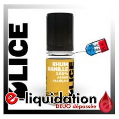 DESTOCKAGE RHUM VANILLE - D'lice - DESTOCKAGE DLUO