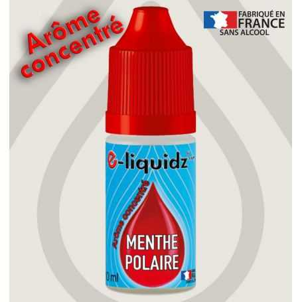 ARÔME CONCENTRÉ • MENTHE POLAIRE e-liquidz 10ml e-liquidz START • e liquide pas cher !