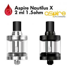 coffret ASPIRE NAUTILUS X 2ml ASPIRE