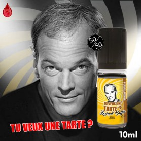 TU VEUX UNE TARTE - Laurent BAFFIE collection - e-liquide 10ml Laurent BAFFIE