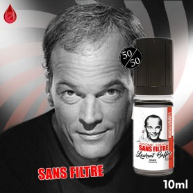 SANS FILTRE - Laurent BAFFIE collection - e-liquide 10ml Laurent BAFFIE