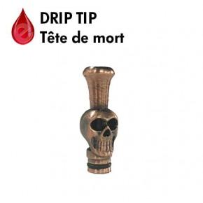 DRIP TIP TETE DE MORT