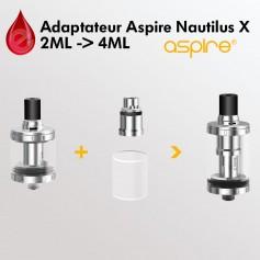 ADAPTATEUR Aspire Nautilus X 2ML vers 4ML ASPIRE