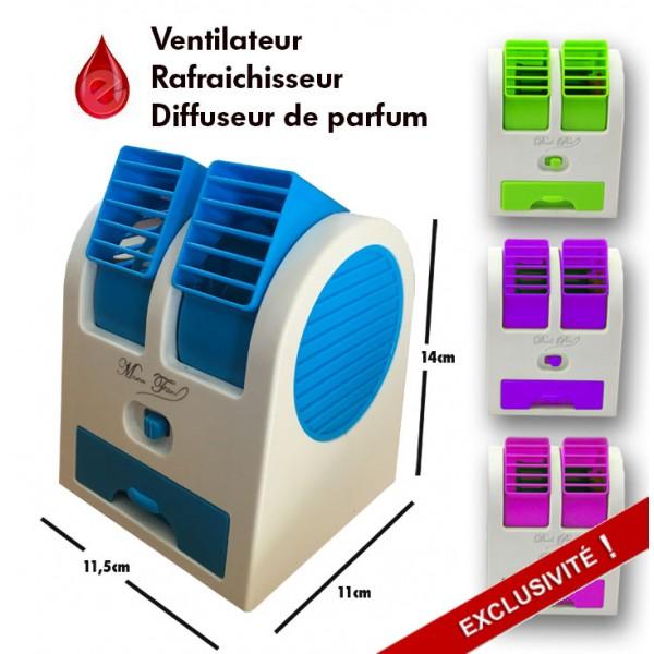 Ventilateur rafraichisseur hybride