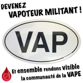 Adhésif Sticker VAP