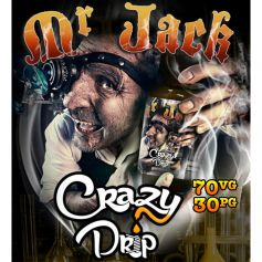 MR JACK - CRAZY DRIP - e-liquide 10ml