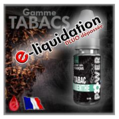 E-LIQUIDES Destockage MENTHOL (TBC MENTHE) - DÉSTOCKAGE Flavour POWER - e-liquide 10ml
