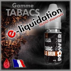 TABAC LE BRUN - DÉSTOCKAGE Flavour POWER - e-liquide 10ml