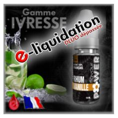 RHUM VANILLE - DESTOCKAGE Flavour POWER - e-liquide 10ml