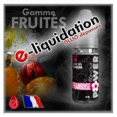 FRAMBOISE - DÉSTOCKAGE Flavour POWER - e-liquide 10ml