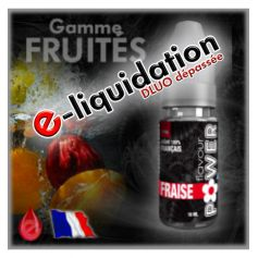 FRAISE - DESTOCKAGE Flavour POWER - e-liquide 10ml