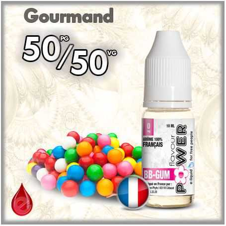 50/50 L'fmr BB Gum - Flavour POWER - e-liquide 10ml FLAVOUR POWER