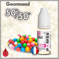 50/50 BB Gum - Flavour POWER - e-liquide 10ml