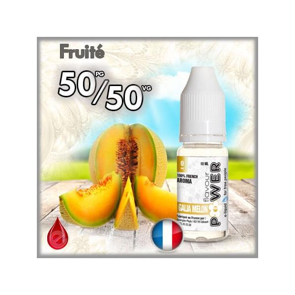 50/50 50/50 MELON GALIA - Flavour POWER - e-liquide 10ml