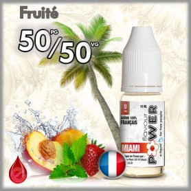50/50 L'fmr MIAMI - Flavour POWER - e-liquide 10ml FLAVOUR POWER