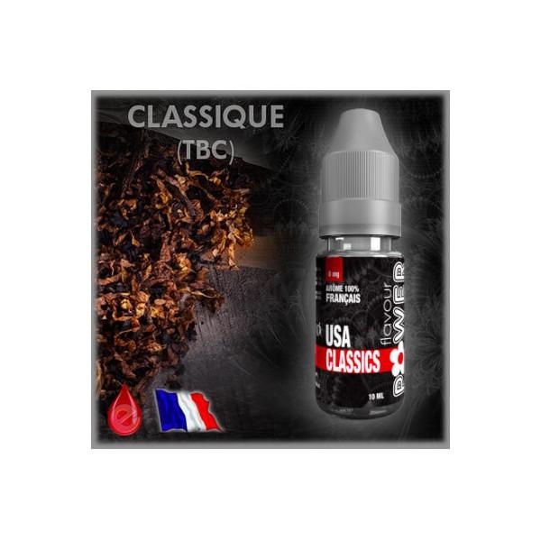 TBC CLASSIQUE USA CLASSICS - Flavour POWER - e-liquide 10ml