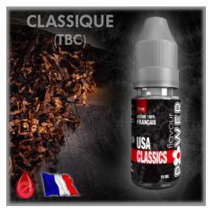 USA CLASSICS - Flavour POWER - e-liquide 10ml