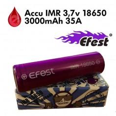 ACCU IMR 18650 3000mah 35A Efest