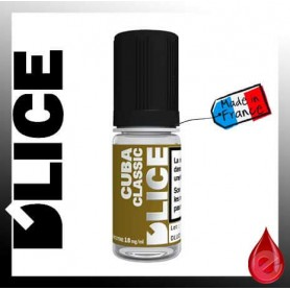 CUBA CLASSIC - D'lice - e-liquide 10ml