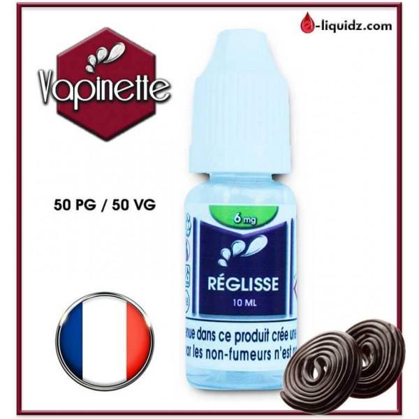 REGLISSE - VAPINETTE Vapinette