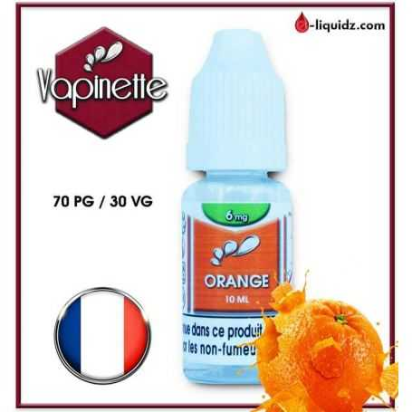 ORANGE - VAPINETTE Vapinette