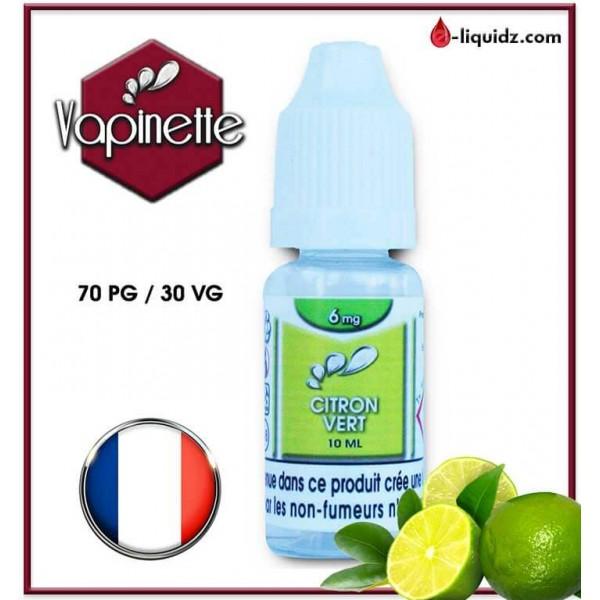 CITRON VERT - VAPINETTE Vapinette