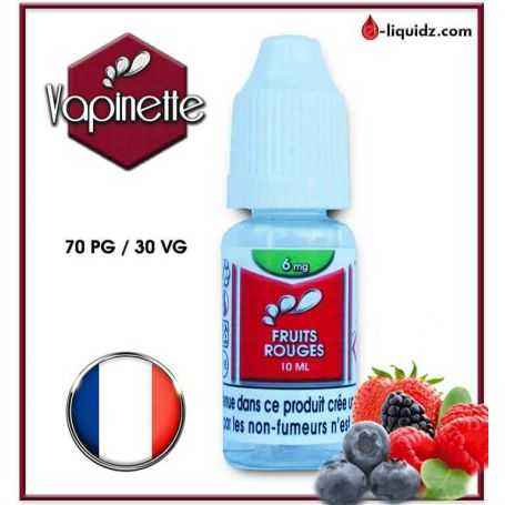 FRUITS ROUGES - VAPINETTE
