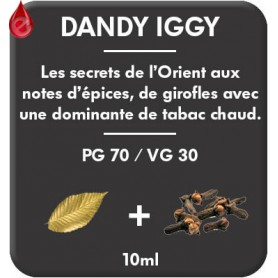 DANDY - IGGY e-liquide 10ml DANDY® PARIS par liquideo