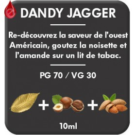 DANDY - JAGGER e-liquide 10ml DANDY® PARIS par liquideo