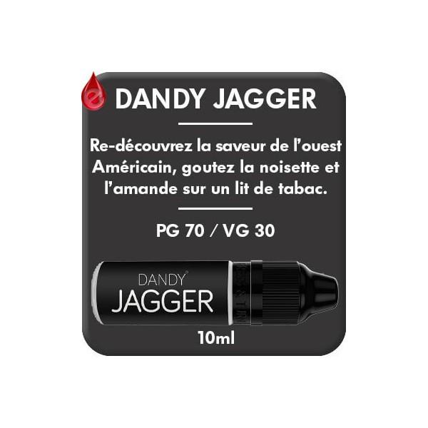 DANDY - JAGGER e-liquide 10ml DANDY® PARIS par liquideo