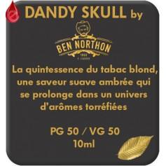 DANDY - SKULL e-liquide 10ml DANDY® PARIS par liquideo